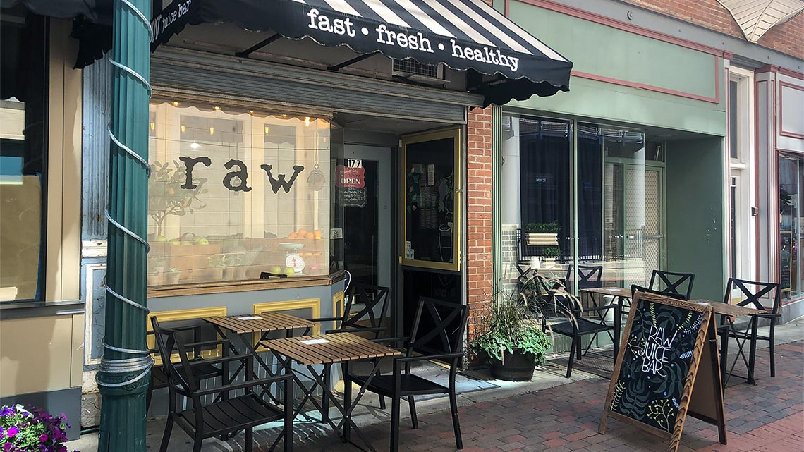 raw juice smoothies schenectady